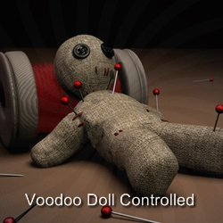 Voodoo Doll Controlled